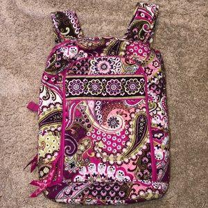 Vera Bradley Very Berry Paisley laptop backpack